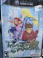 Tales of Symphonia (Nintendo Gamecube, 2004) Black Label! NEW FREE SH (see des)