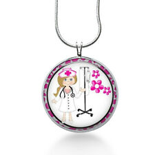Nurse Necklace ,RN, LPN, Nurse pendant, nurse gift, Nursing Graduation Gift