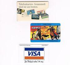 Telefonkarten (noch in DM)
