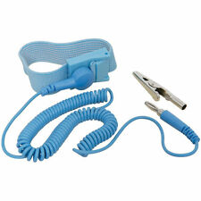 Anti Static Wrist Strap Grounding Discharge ESD Band With Clip