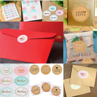 Fashion Handmade With Love Label Sealing Stickers Candy Bag Wedding Party Gift