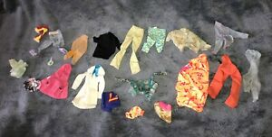 Barbie Sindy and Others Fashion Doll Shoes Clothes Some Vintage Bundle Lot