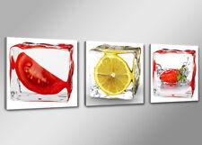 Cuadros en Lienzo + 150 x 50 cm Nr. 4204 frutas Cocina