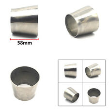 Thickness:1mm OD : 2.5'' 63mm to 3'' 76mm Weldable Exhaust Pipe Reducer Adapter