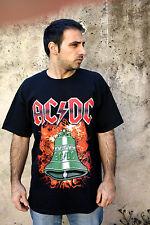 AC DC HEAVY MUSIC SHORT SLEEVE BLACK COTTON T SHIRT MENS TOP XL SuPER