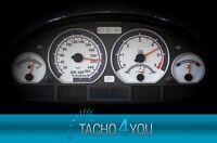 Tachoscheiben für BMW 300 kmh Tacho E46 Diesel M3 Carbon 3323 Tachoscheibe km/h