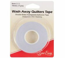 """Wash Away Quilters Tape Double Sided AdhesiveTape  5/16"""" (8mm) x 10m"""