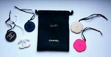 VIP gift set of 5 Chanel plastic charms + black small pouch *LE LIFT* Rare