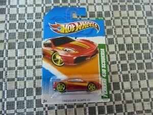 Hot Wheels Treasure Hunt Ferrari 430 Scuderia (Long Card)