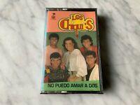 Los Chiqui's No Puedo Amar A Dos Cassette Tape SEALED! ORIGINAL 1992 NEW! RARO!