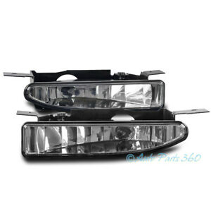 97-05 BUICK CENTURY/REGAL FRONT BUMPER DRIVING FOG LIGHT LAMP CHROME 01 02 03 04