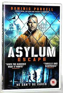 Asylum Escape (2016) aka  Escapee (2011 DVD Dominic Purcell - Immediate Dispatch