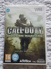 CALL OF DUTY MODERN WARFARE REFLEX EDITION - NINTENDO WII - NEW  PAL