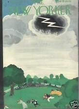 New Yorker Magazine 07/24/1937  Rainy Picnic - HALL