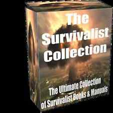 Survival Manual Book Collection on CD- Over 20 Survival eBooks  - Survivalist