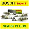 BOSCH Super4 Spark Plugs BMW Z3 1.8/1.9 16v M43 M44