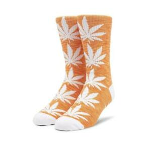 Genuine HUF Plantlife Melange Sock - Orange