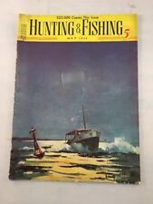 Hunting and Fishing Magazine Back Issue May 1937 Vintage Old