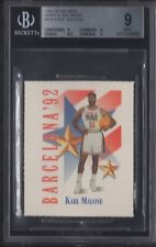BGS 9 KARL MALONE 1991-92 SKYBOX MARK & SEE MINIS DREAM TEAM USA UTAH JAZZ MINT