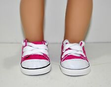 Our Generation American Girl 18 Dolls Clothes Shoes Hot Pink Sneaker Runners