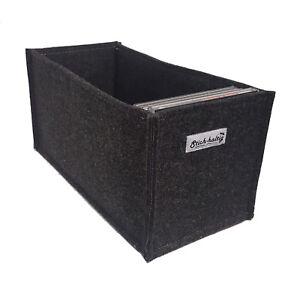 Stilvolle Aufbewahrungsbox aus Filz für CD´s CD-Box CD Regalkorb CD Filzkorb