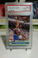 Shaquille Shaq O'Neal 1992 Fleer Ultra Rookie #328  PSA 8 NM MINT Magic Lakers