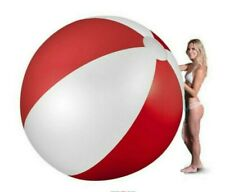 "59"" INFLATABLE BEACH GIANT BALL Kids Pool Toy Summer Outdoor Fun Panel 150cm UK"