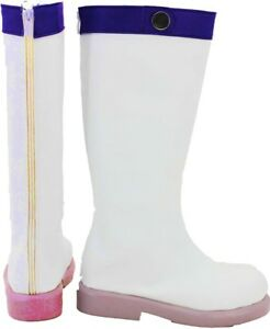 Cosplay Boots Shoes for Fairy Tail Lucy 2nd