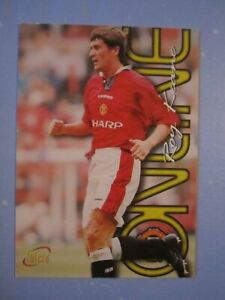 Roy Keane Online card from the Manchester United 1997 Futera card set