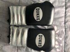 Classic Leather Duke Boxing Gloves 16oz lace up
