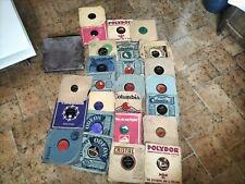 Lot 25 disques vinyles 78 tours