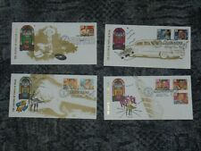 More details for dealers lot- 20 sets of 4 music  first day covers elvis, buddy, b hayley, hank,