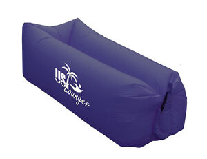 Adult US Air Lounger Fast Inflatable Portable Outdoor or Indoor Lazy Camping Bed