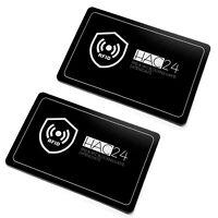 2x RFID NFC Störsender Schutzkarte | Blocker Card Kreditkarten | Schutzkarte