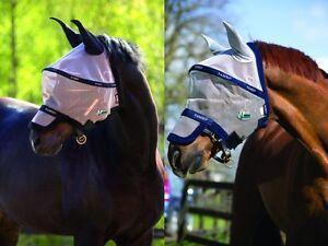 Horsewar Rambo Plus Fly Mask Vamoose Fliegenmaske Ekzem Gr. wählbar
