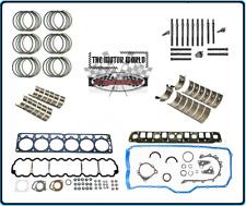 Jeep 4.0 Rebuild kit  Rings, Bearings, Gaskets plus Head bolts