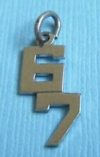 Vintage Wells sixty-seven 67 year sterling charm