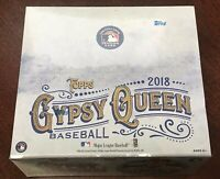 2018 Topps GYPSY QUEEN Retail 24ct Box - New Sealed Auto RC Devers Albies Trout