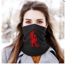 Liverpool Black Red Football Scarf Neck Warmer Snood Christmas Gift Face Cover