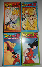 LOT 4 K7 VIDEO VHS SPECIAL DRAGONBALL Z
