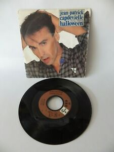 45 Upm Jean-Patrick - Halloweenvinyle Schallplatte Vintage Musik