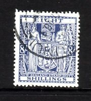 NEW ZEALAND....  1931 arms  8s blue  used