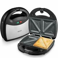Aicok Sandwich Maker 750-Watts, 3-in-1 Detachable Non-stick Coating