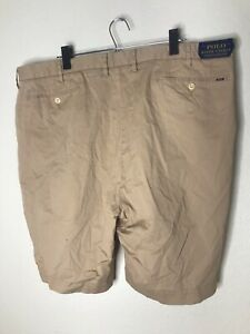 NWT NEW Men's Polo by Ralph Lauren Classic Fit Shorts Size 44b 44 Big - Tan