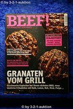 Beef Nr.16 für Männer mit Geschmack 4/2013 Granaten vom Grill