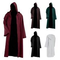 #QZO Women Men Long-Sleeves Robe Hoodie Cloak Halloween Cosplay Costume Cape