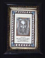 Voile de Véronique Christ peinture porcelaine jesus veronica's veil ceramic XIX