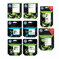 More details for original hp 301 / 301xl black & colour ink cartridge for deskjet 1010 printer