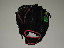 Mizuno Girl's Prospect Finch Softball Glove, Right Hand Pink and Black Age 3-6