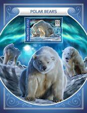 MALDIVES 2018 Polar bear s/s S201805